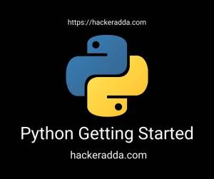 Python Getting Started